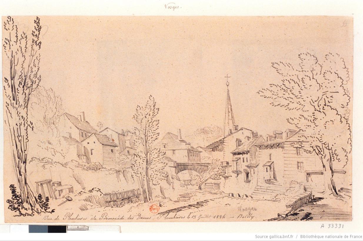 Plombières en 1824