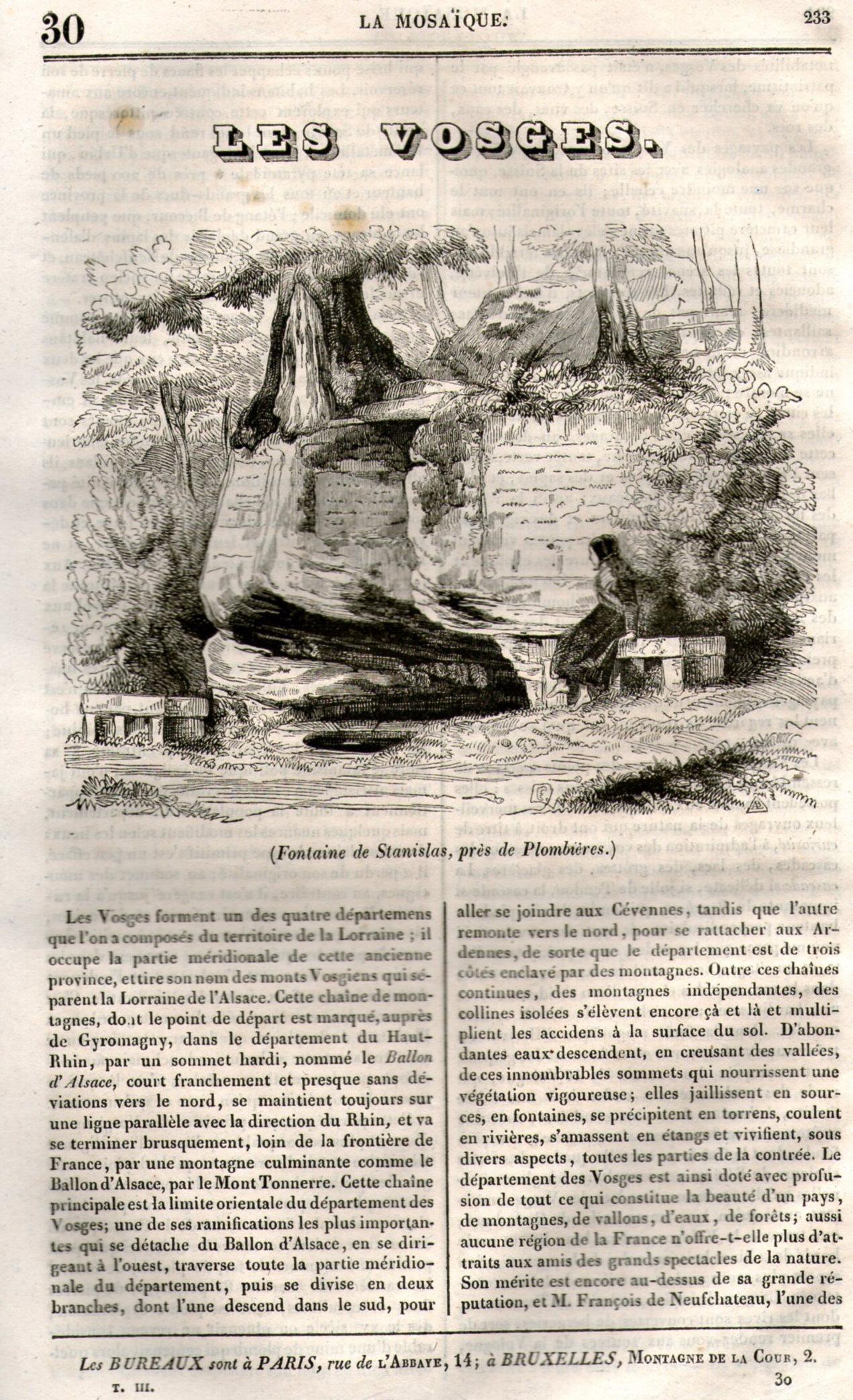 1835 - Plombières-les-Bains